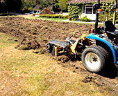 Spray Lawn Services - Stripping & removal of old lawn