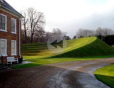 Spray Lawn - Earth Sculptures