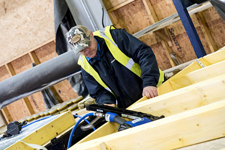 Target Timber Frame Assembly