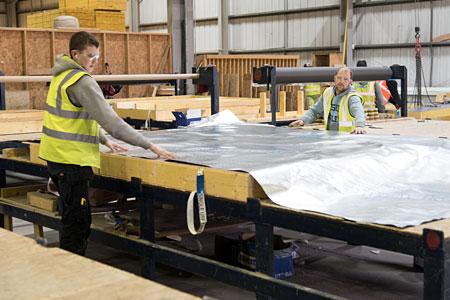 Target Timber Frame Manufacturing