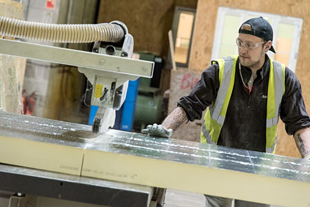 Target Timber Frame Panel Manufacturing