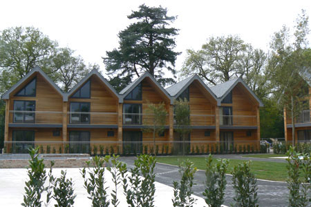 Timber Frame Hotel/Lodge Accommodation