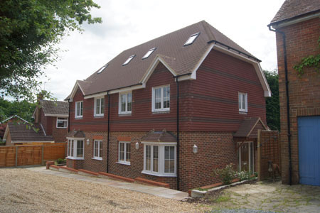 Timber Frame Pair of Semi-Detached Houses