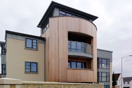 Timber Frame 3-Storey Apartments