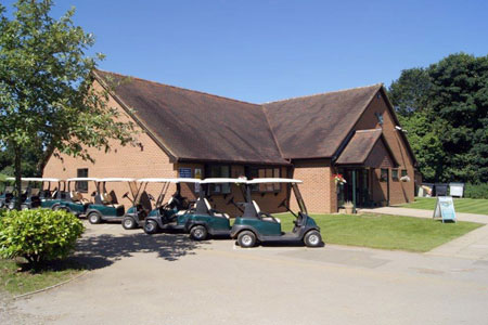Timber Frame Golf Clubhouse