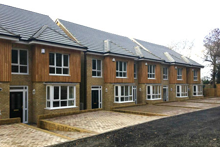 Timber Frame Semi-Detached Houses