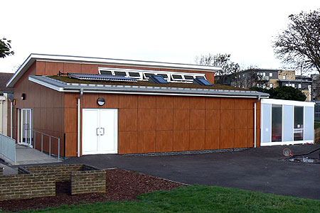 Timber Frame Eastbrook Primary School