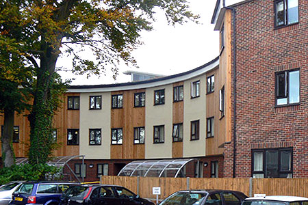 Timber Frame Student Accomodation