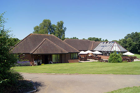 Timber Frame Golf Club-House